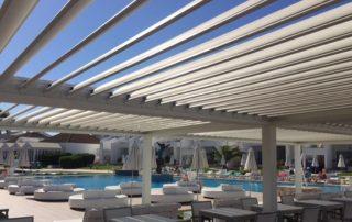 Mas Sombra - Pergola bioclimáticas para hotel Las Palmas