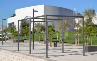 Estructura Pergola de alumino Jardin  Las Palmas - Mas Sombra