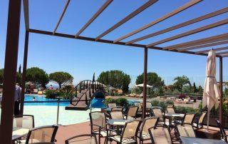 Pergola de alumino piscina Las Palmas - Mas Sombra
