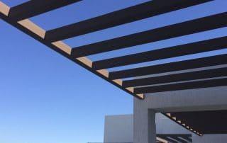 Instalacion Pergola de alumino Jardin  Las Palmas - Mas Sombra