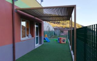 Pergola bioclimáticas para escuela  Las Palmas - Mas Sombra