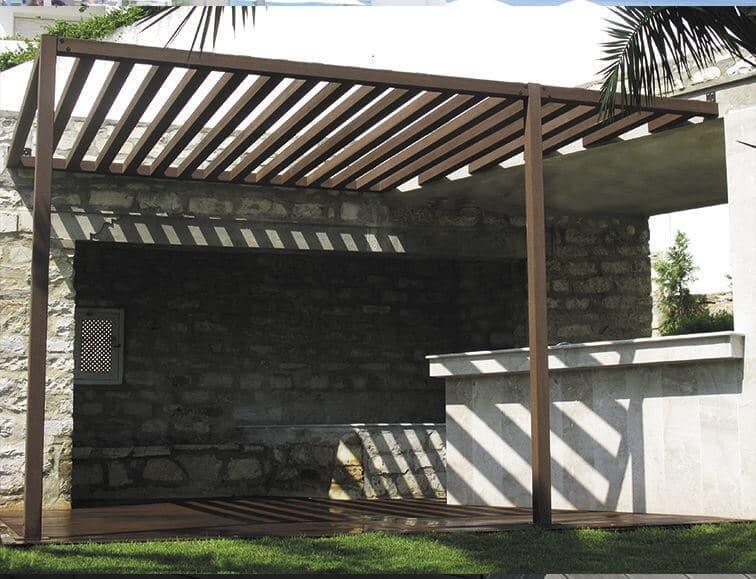 Pergola bioclimáticas barbacoas  Las Palmas - Mas Sombra