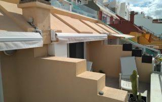 Instalacion Toldo para balcon extensible Las Palmas - Mas Sombra