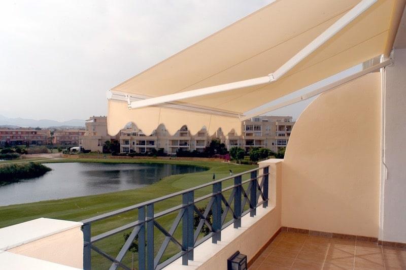 Toldo extensible para hoteles Las Palmas - Mas Sombra