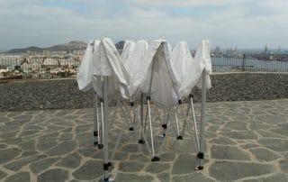 Mas Sombra - Carpa Plegable en Las Palmas