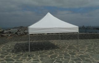 Alquiler de carpa plegable en Las Palmas - Mas Sombra
