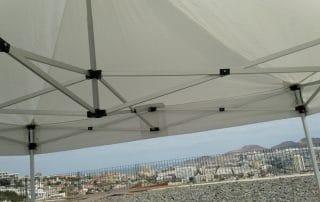 Instalacion de carpas en Las Palmas - Mas Sombra