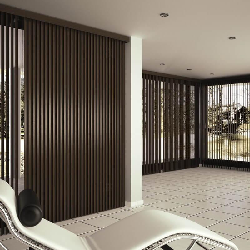 Mas Sombra - Diseño e instalación de Estores verticales en las palmas