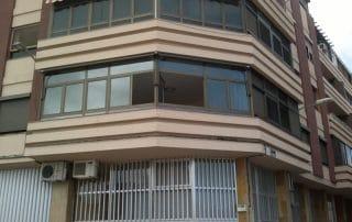 Mas Sombras - Cofre punto recto para ventana Las Palmas