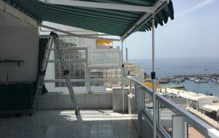 Instalación Toldo Sombrex - Las Palmas - Mas Sombras