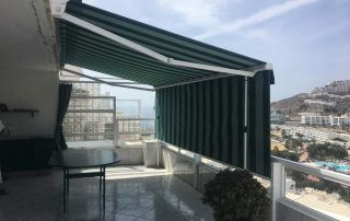 Toldo para terraza tipo Sombrex - Las Palmas - Mas Sombras