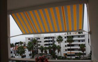Mas Sombras - Toldo punto recto para balcon Las Palmas