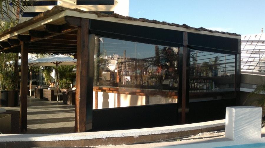 Instalación y venta de toldo vertical en Las Palmas - Mas Sombras