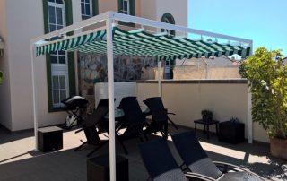 Mas sombra - venta e instalacion Pergolas de aluminio en Las Palmas